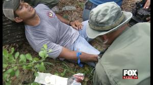 Border Patrol Simulate Dangers Faced When Smuggled Into Country