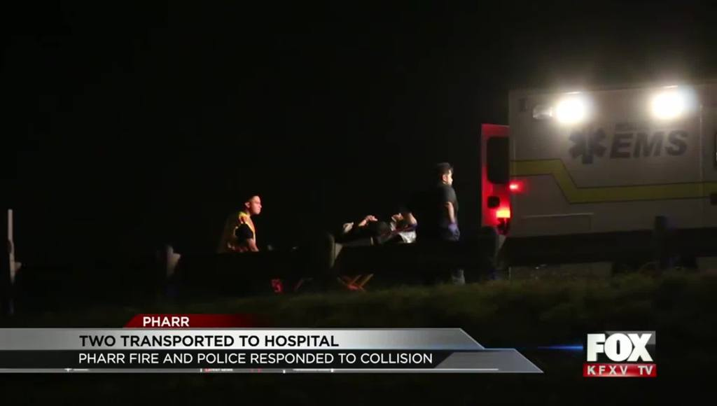 Pharr Police Respond to Overnight Collision