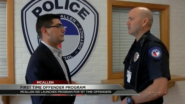 McAllen ISD Implements First Offender Program