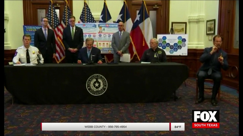 Governor Abbott Orders Closure Of Business And Non-essential Activities