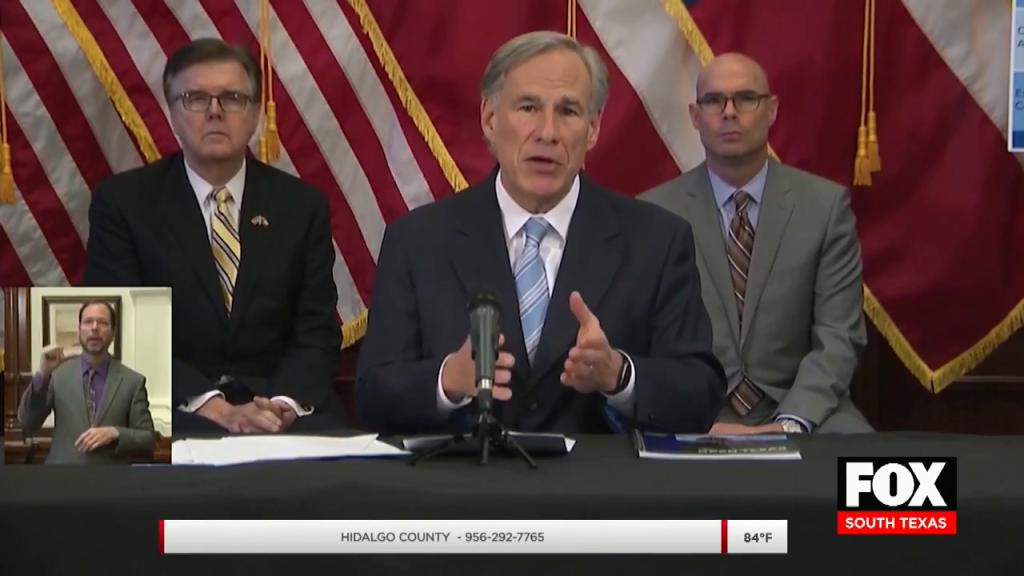 Gov. Abbott Announces Phase One of Reopening Texas