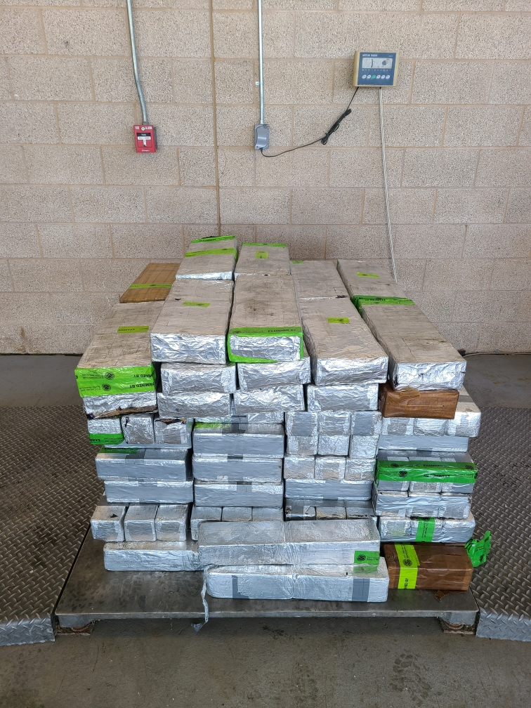 CBP Officers Seize $30 Million Worth of Methamphetamine at Local Port of Entry
