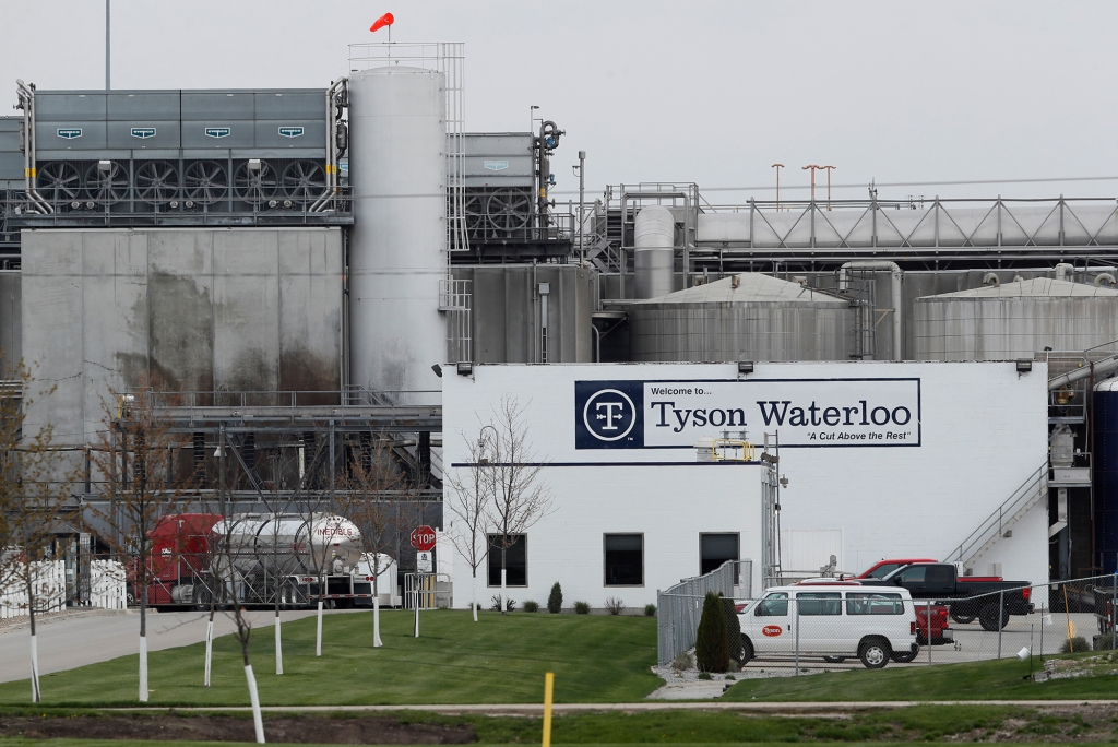 MANAGERS AT TYSON MEAT PLANT HAD BETTING POOL ON HOW MANY WORKERS WOULD GET COVID, LAWSUIT ALLEGES