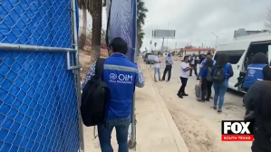 CBP Prepares For Arrival of Migrants Waiting in Mexico for Asylum