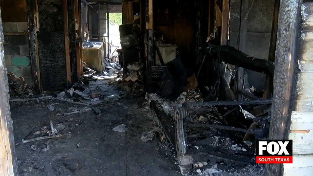 Devastating Fire Leaves San Juan  Family of 11 Without a Home