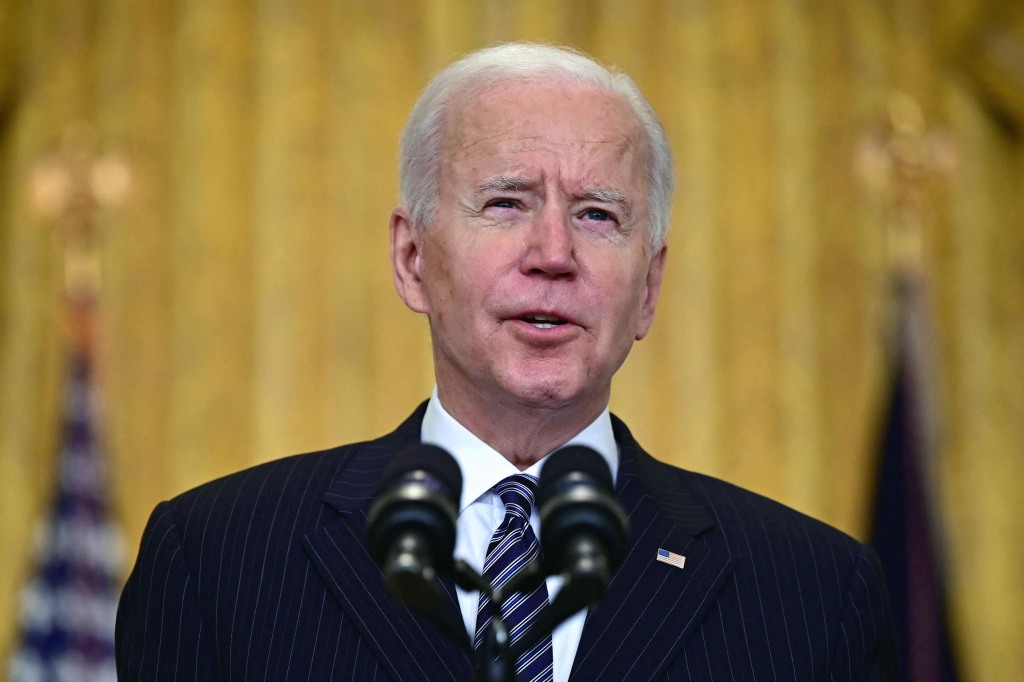 Biden condemns 'skyrocketing' hate crimes against Asian Americans in wake of deadly shooting