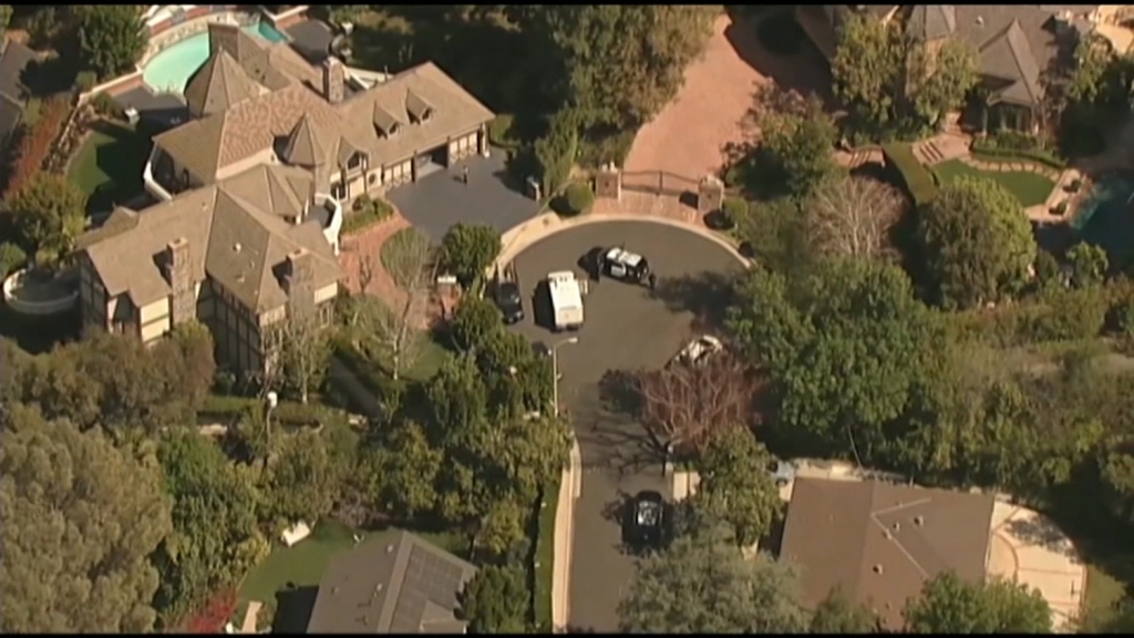 Suspect arrested after a 100-year-old man was slain in his home, Los Angeles police say