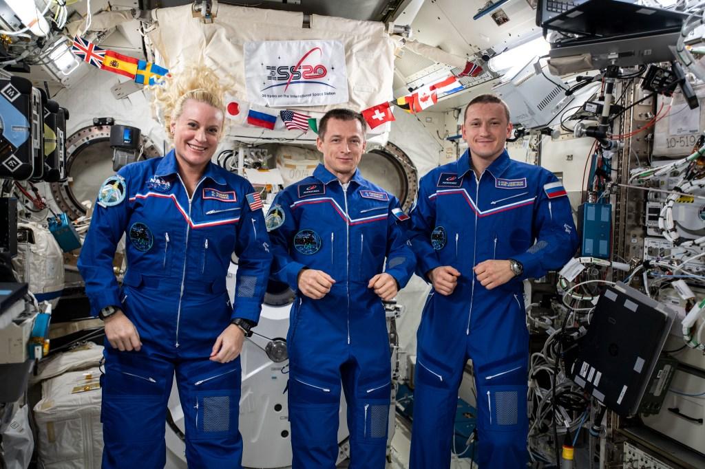 NASA astronaut Kate Rubins and Russian cosmonauts are returning to Earth