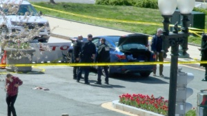 Capitol Police officer rammed by car died of blunt force head injuries, medical examiner says
