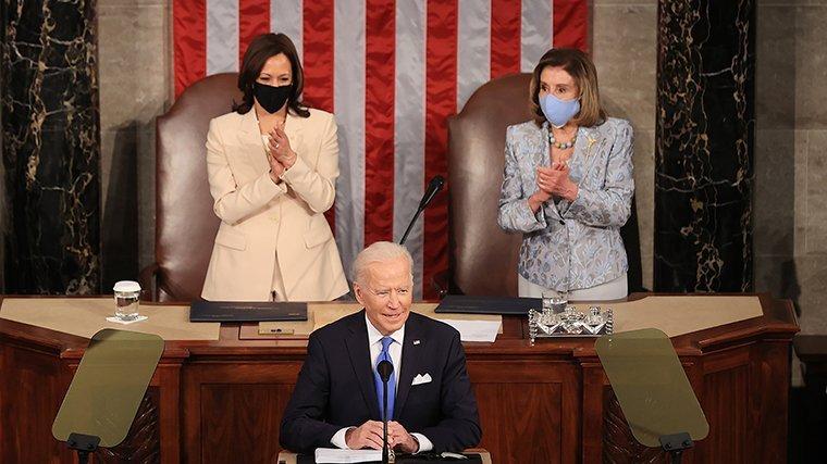 Biden looks to use Covid successes to unite US around his legislative agenda