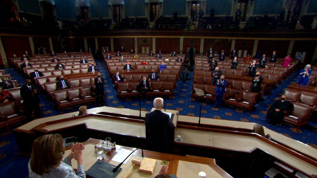5 takeaways from President Biden's first address to Congress