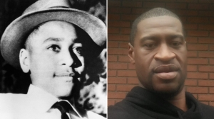 George Floyd's brother bonds with Emmett Till's cousin over brutal, public deaths decades apart