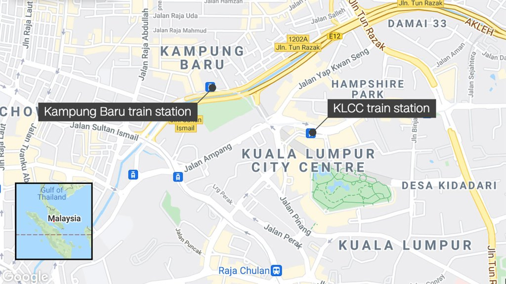 More than 200 injured after two trains collide in Malaysian capital