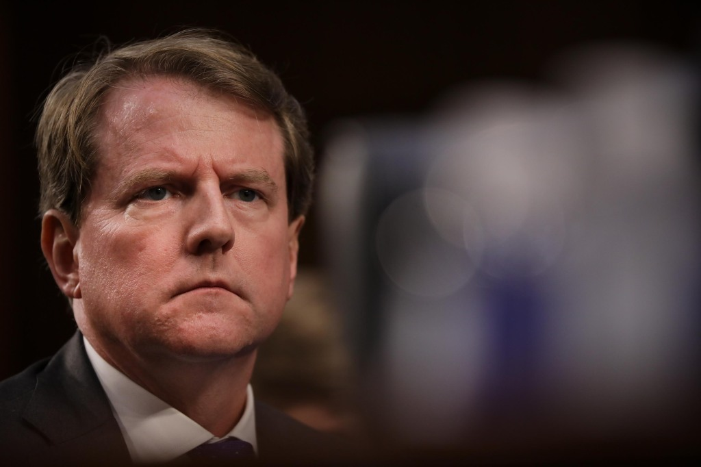 Ex-WH counsel McGahn agrees to testify before House Judiciary Committee behind closed doors next week
