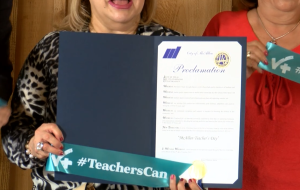 McAllen Proclaims October 5th as Teachers' Day